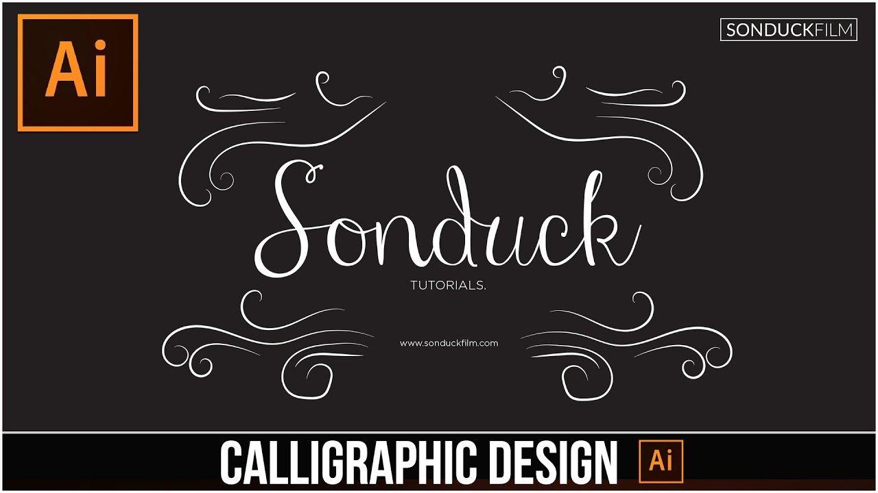 maxresdefault 19 7 - 用铅笔工具指导书法设计Illustrator Tutorial Calligraphic Design with the Pencil Tool