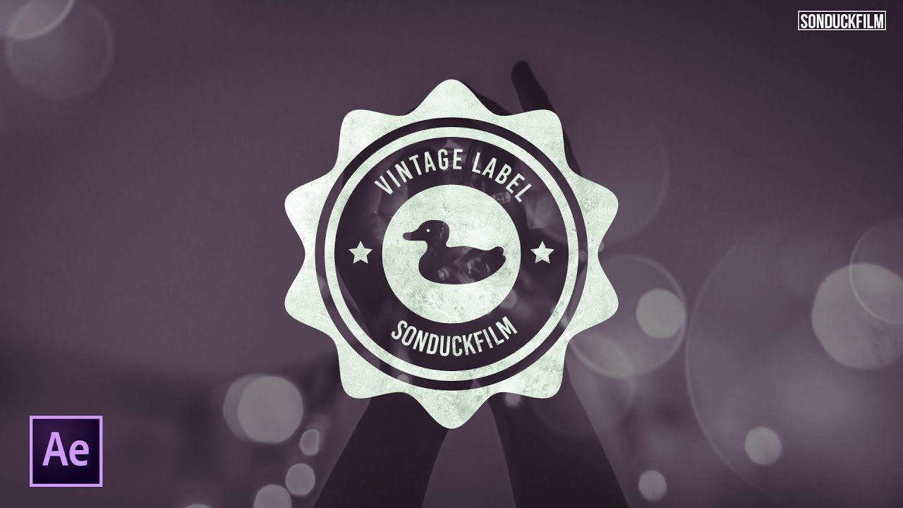 maxresdefault 19 8 - 设计复古标签Design a Vintage Label  After Effects Motion Graphics Tutorial