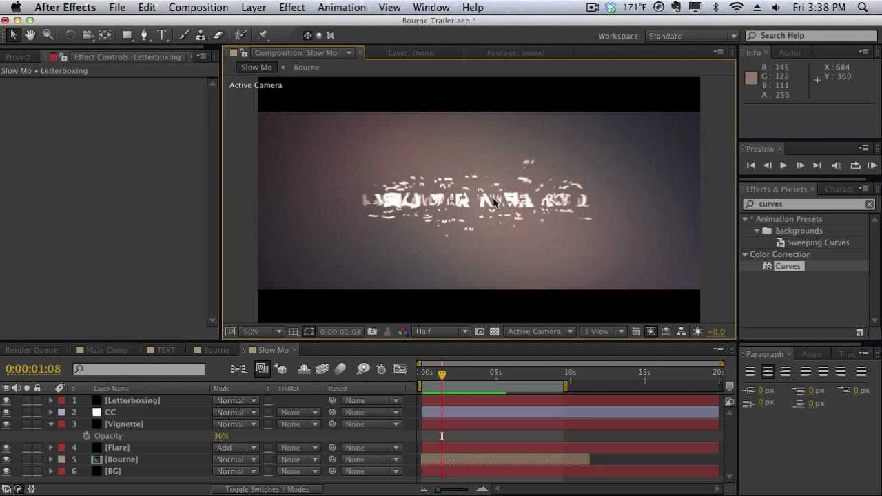 maxresdefault 21 - 标题制作AE Building the Bourne Legacy Titles in After Effects