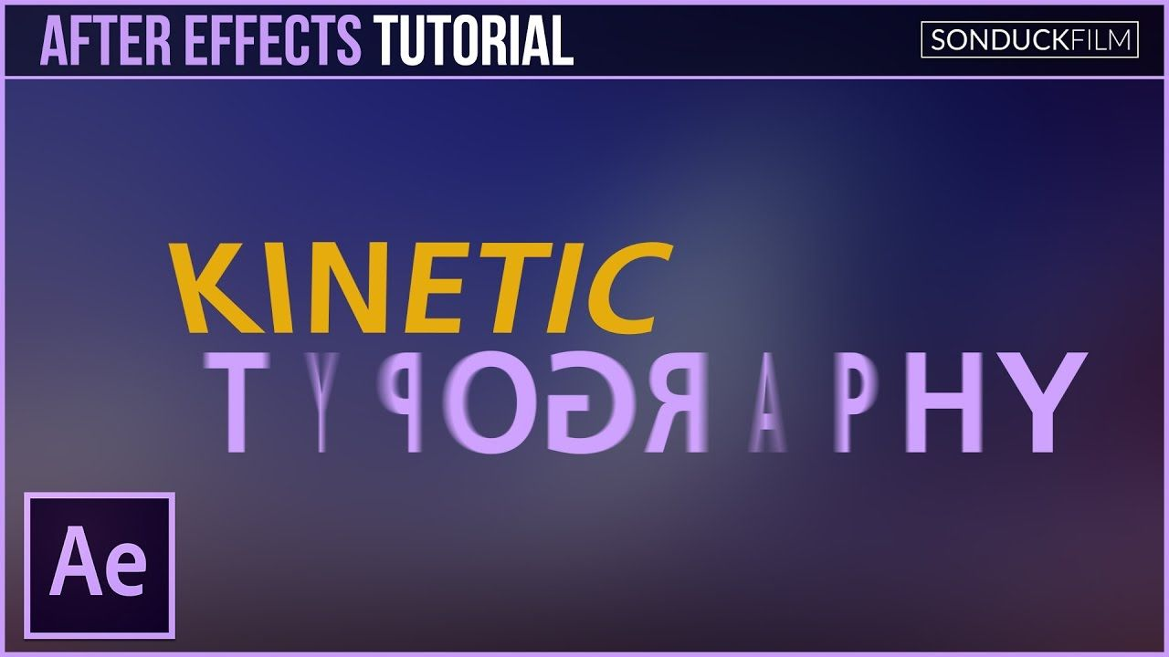 maxresdefault 24 1 - 动态排版运动图形After Effects Tutorial Kinetic Typography Motion Graphics