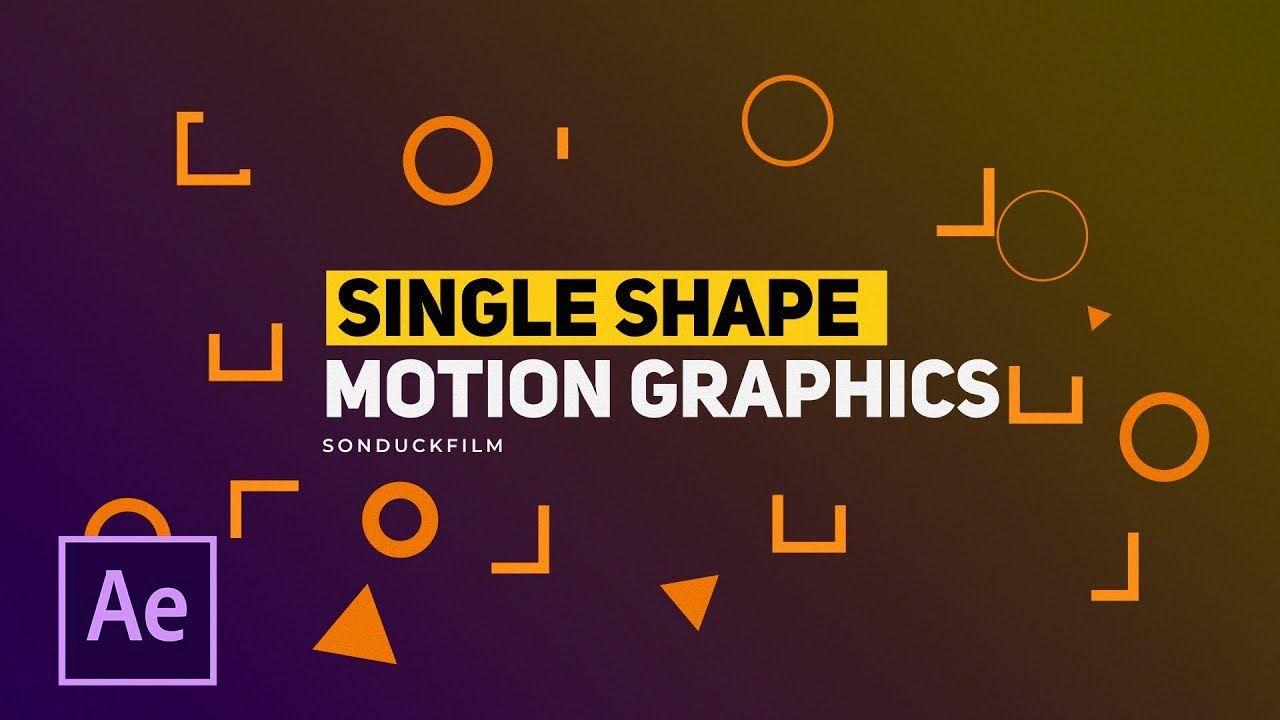 maxresdefault 25 - 3种单形状运动图形技术3 Single Shapes Motion Graphic Techniques  After Effects Tutorials