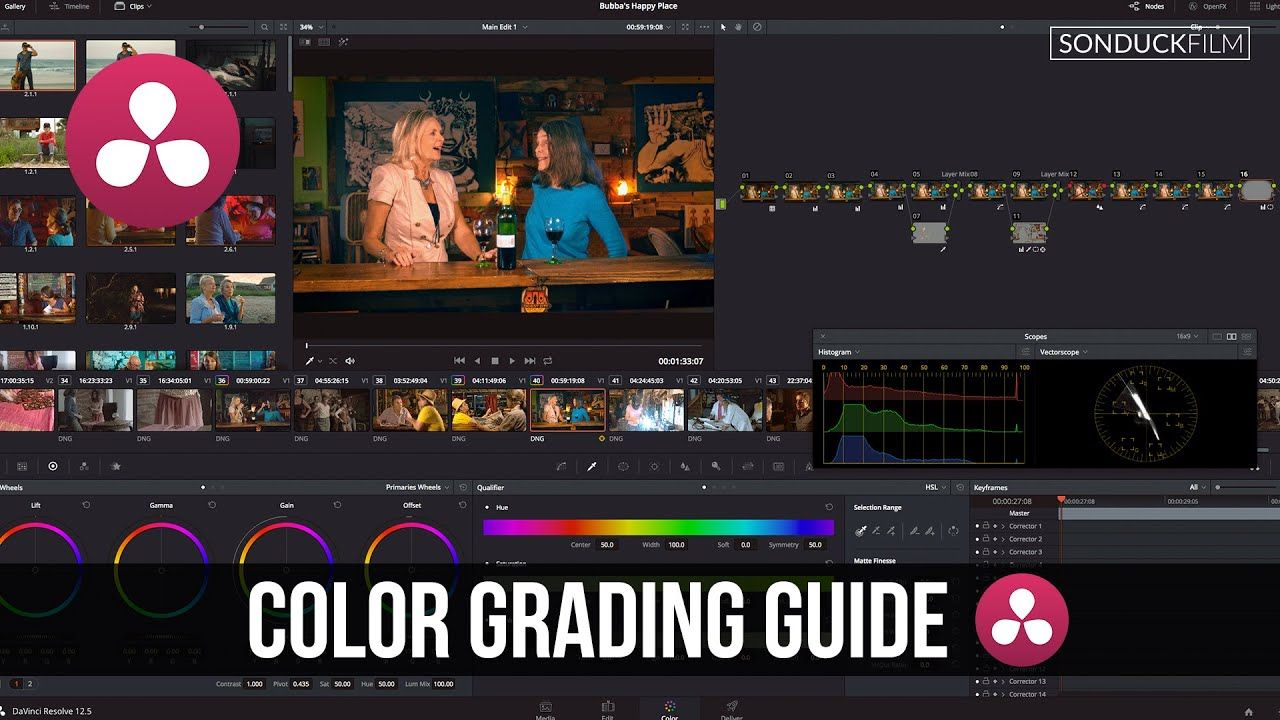 maxresdefault 27 3 - 达芬奇解决12颜色分级指南专业更正教程DaVinci Resolve 12 Color Grading Guide for Pro Correction Tutorial