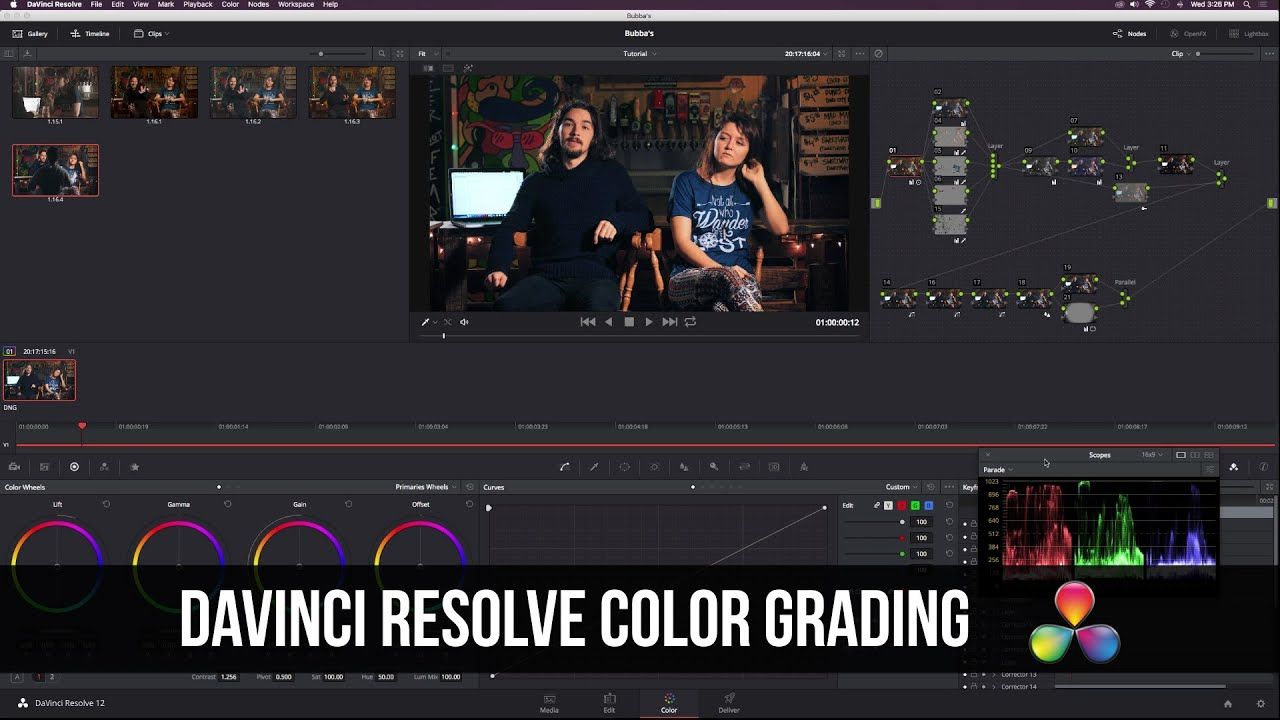 maxresdefault 28 3 - 达芬奇解决12高级颜色分级教程DaVinci Resolve 12 Advanced Color Grading Tutorial
