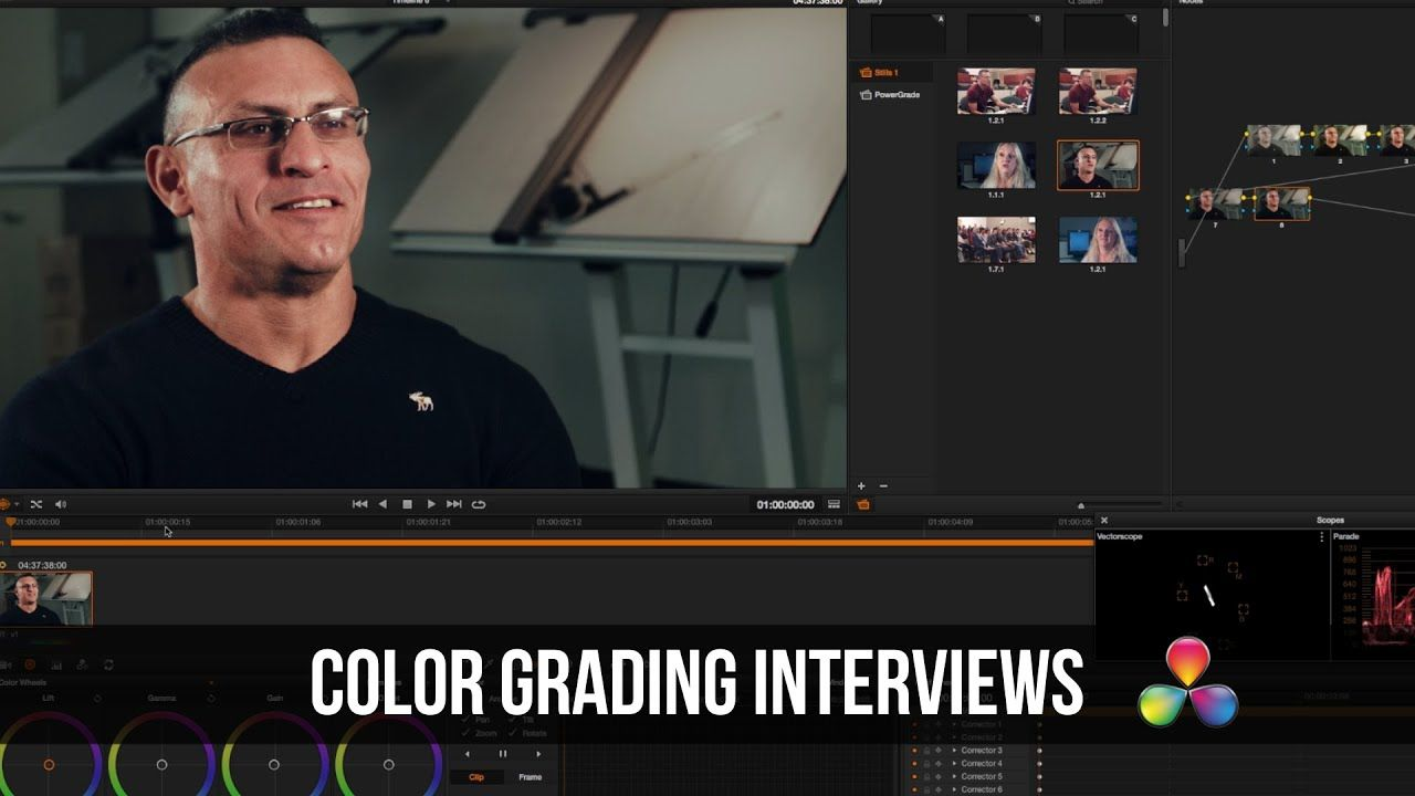 maxresdefault 32 1 - 达芬奇解决教程-色彩纠正采访镜头DaVinci Resolve Tutorial - Color Correcting Interview Footage