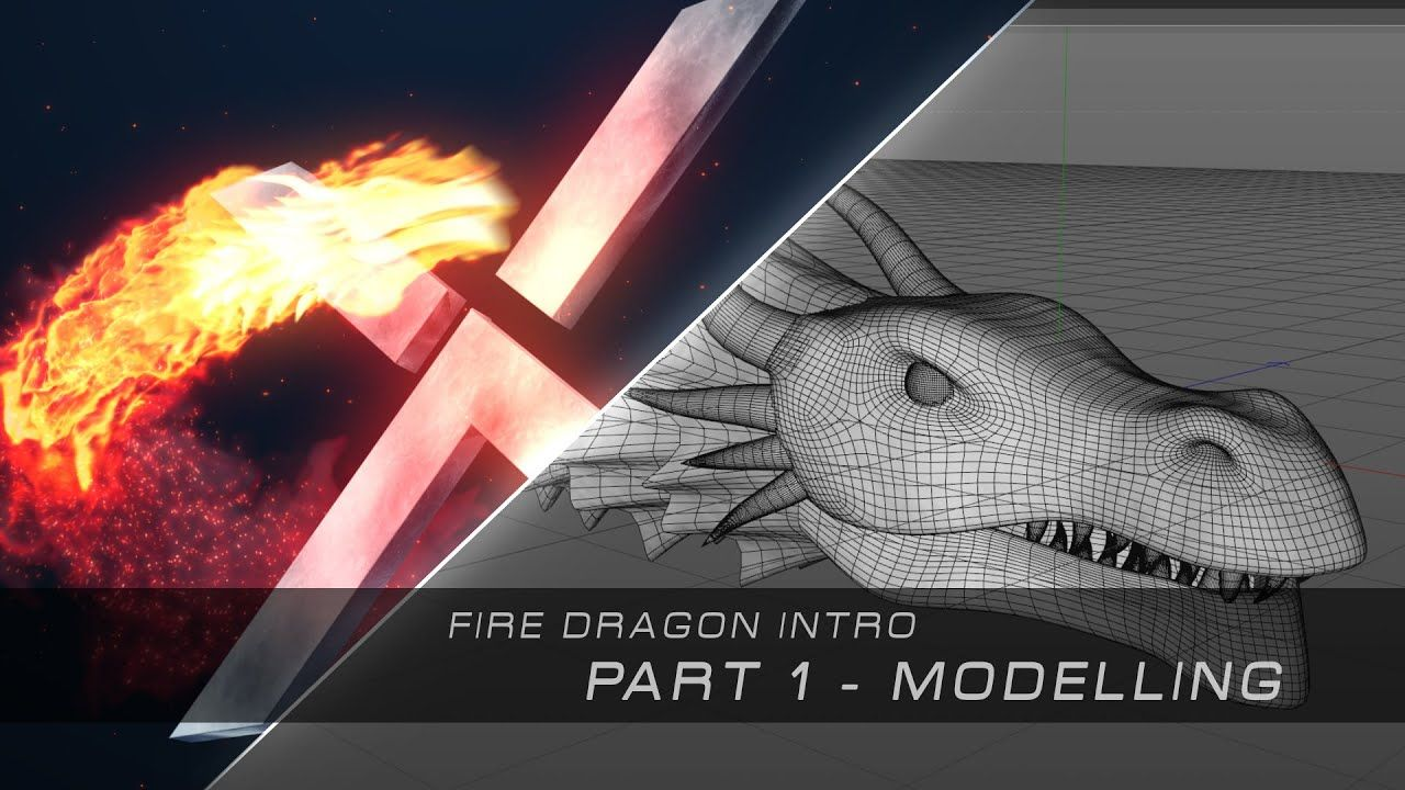 maxresdefault 35 2 - C4D建模教程创建火龙简介Create A Fire Dragon Intro - Cinema 4D Modelling Tutorial