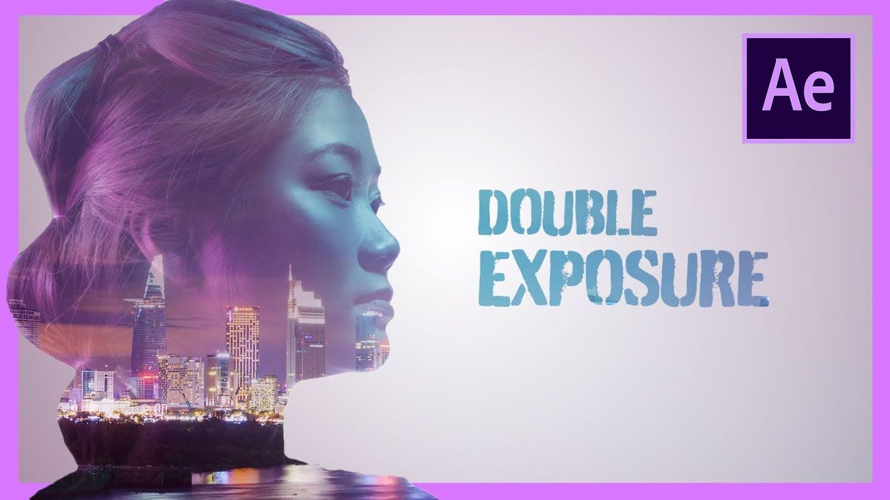 maxresdefault 4 13 - 双曝光动画After Effects Tutorial Double Exposure Animation