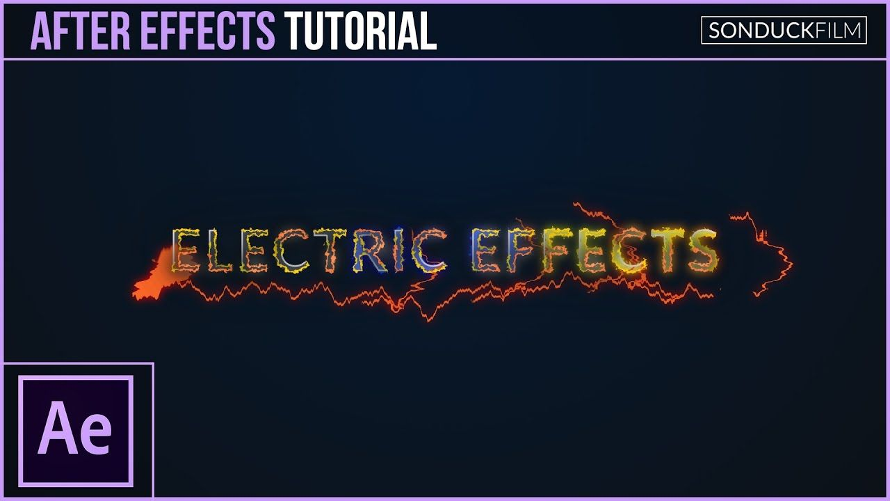 maxresdefault 4 14 - 如何创造电效应How to Create Electric Effects for Motion Graphics - After Effects Tutorial