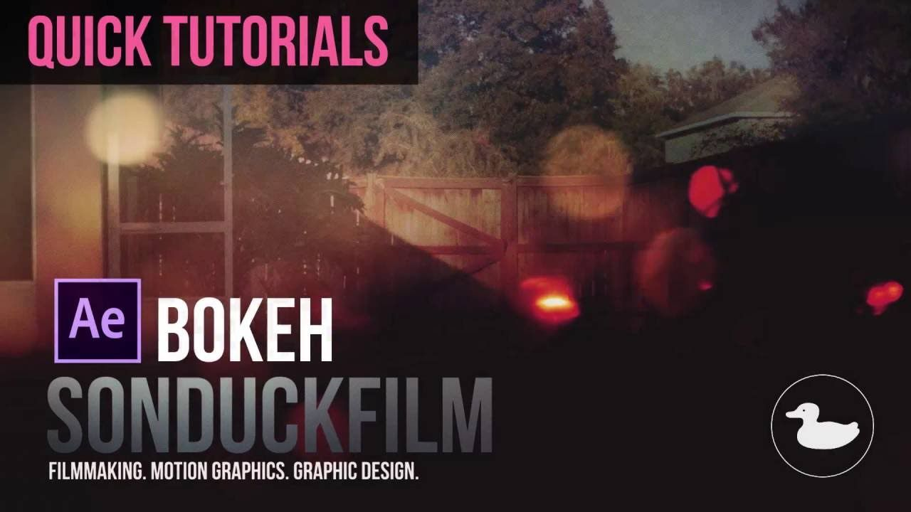 maxresdefault 4 16 - 快速散景动画教程Quick Tutorials Bokeh Animation in After Effects