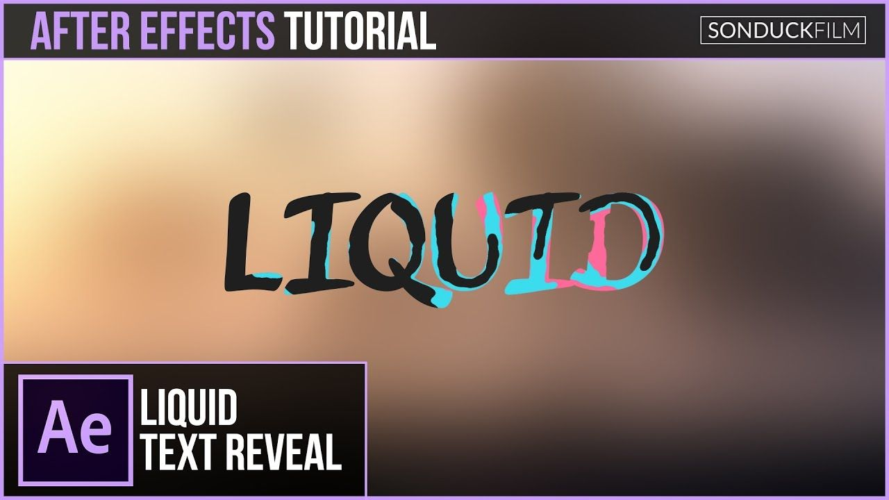 maxresdefault 4 18 - 液体文本效果-运动图形After Effects Tutorial Liquid Text Effect - Motion Graphics