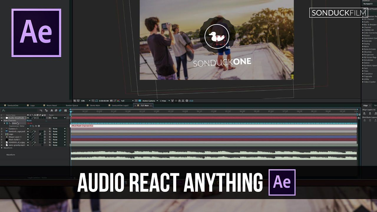 maxresdefault 4 20 - 音频反应任何事After Effects Tutorial Audio React Anything