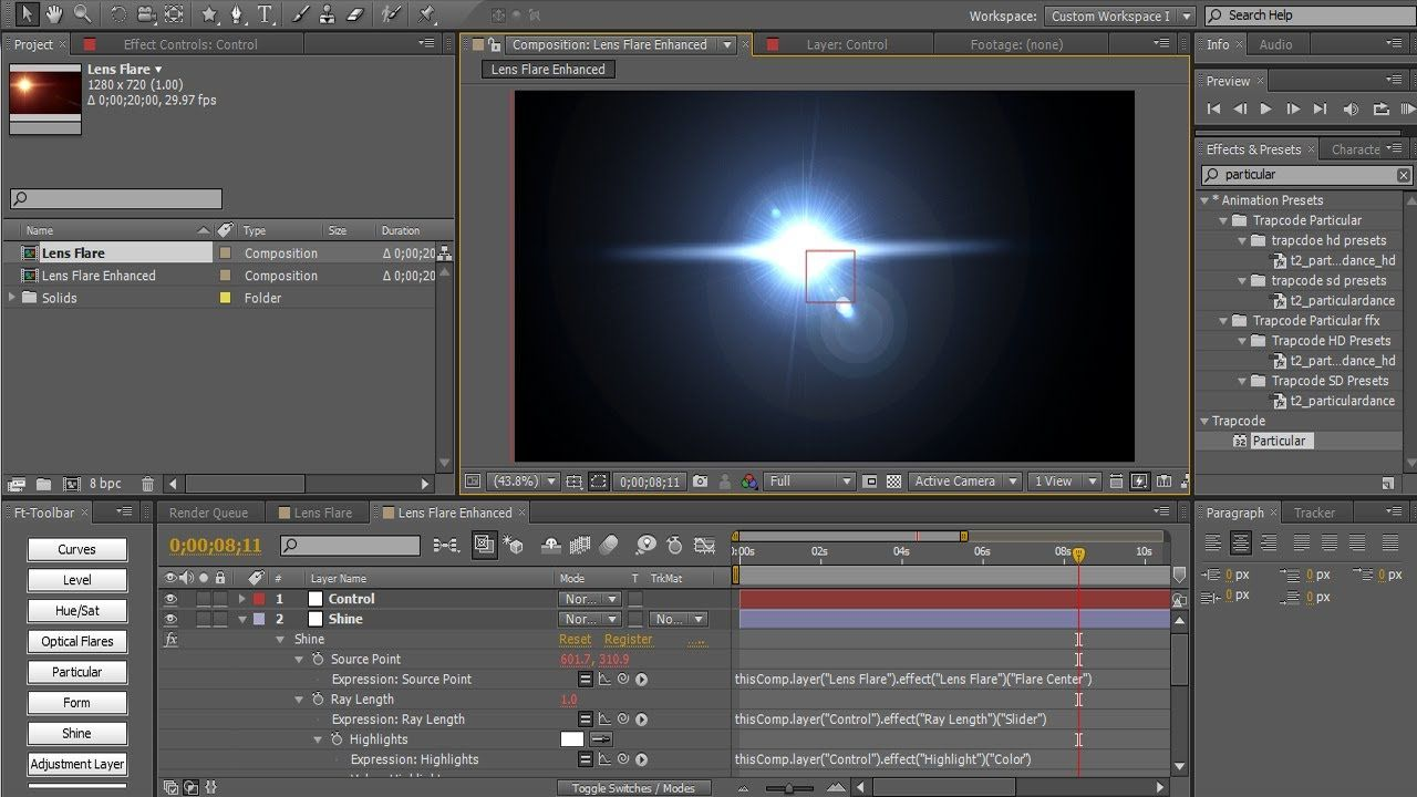 maxresdefault 4 - AE将生命重新吸入后效镜头光晕中AE Breathe Life Back Into the After Effects Lens Flare