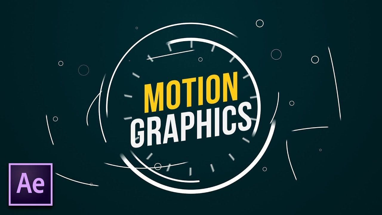 maxresdefault 5 13 - 四大运动图形技术4 Great Motion Graphics Techniques in After Effects
