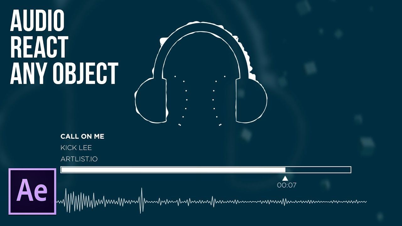maxresdefault 5 20 - 音频响应任何对象音频响应Audio React Any Object  Audio Reaction After Effects Tutorial