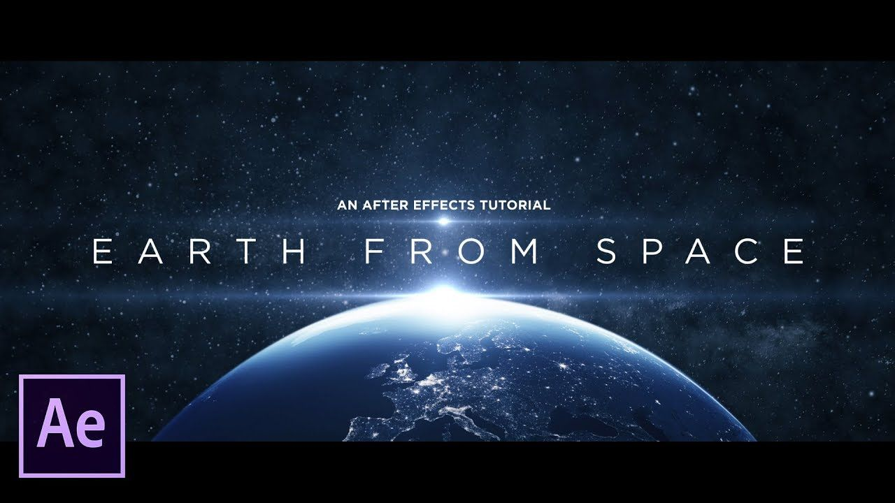 maxresdefault 6 10 - 从太空创造地球Create Earth From Space  After Effects Tutorial