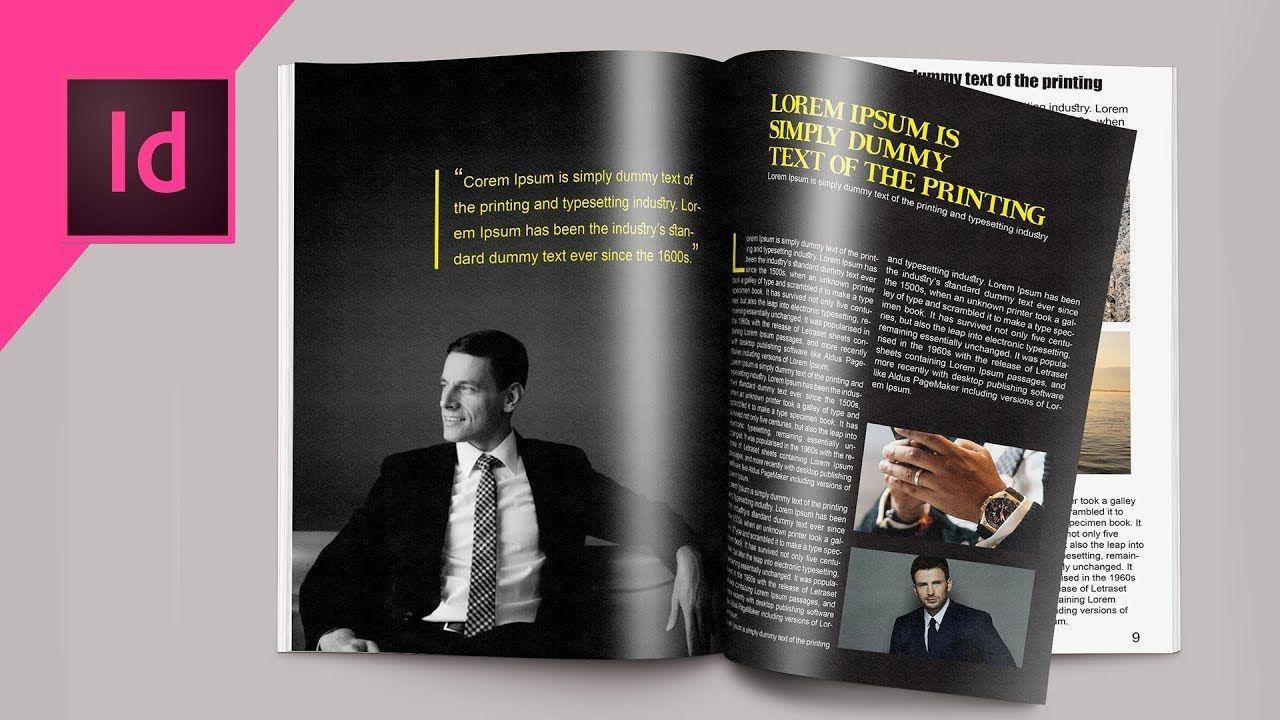 maxresdefault 6 15 - 如何在InDesign CC教程中设计杂志How to Design a Magazine in Indesign CC Tutorial