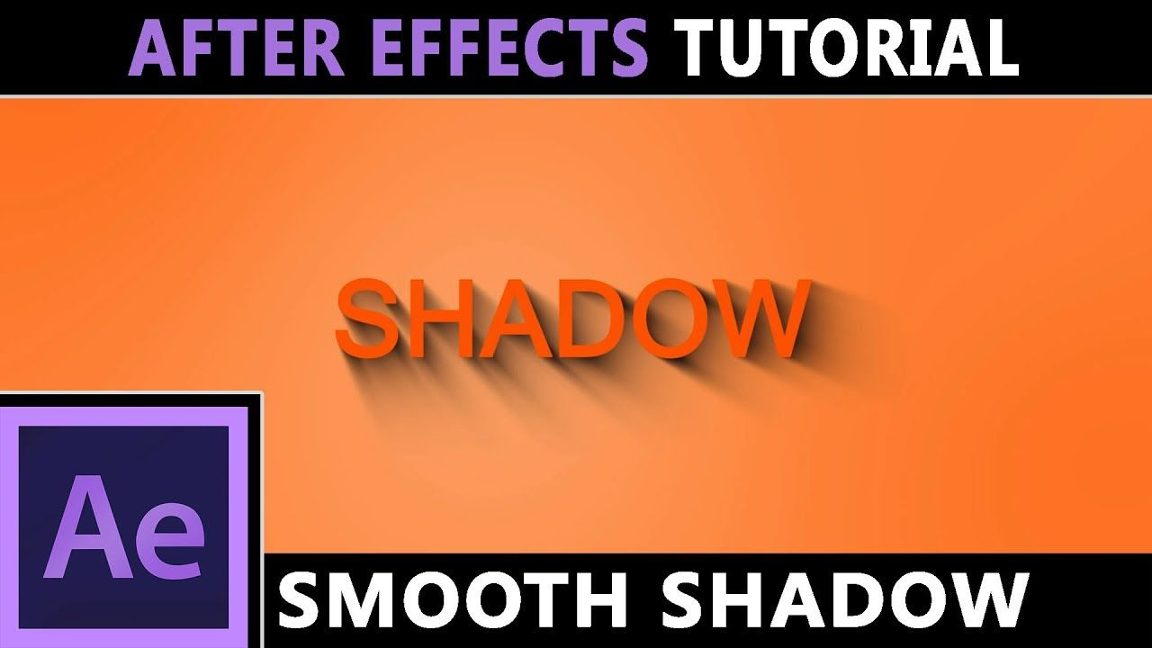 maxresdefault 6 3 - 平滑阴影文本-徽标后效果教程Smooth Shadow Text - Logo  After effects Tutorial