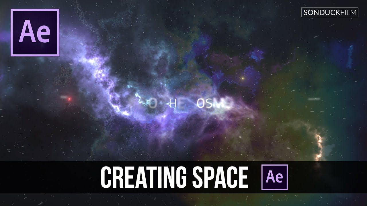 maxresdefault 7 11 - 创建空间简介或场景After Effects Tutorial Creating a Space Intro or Scene