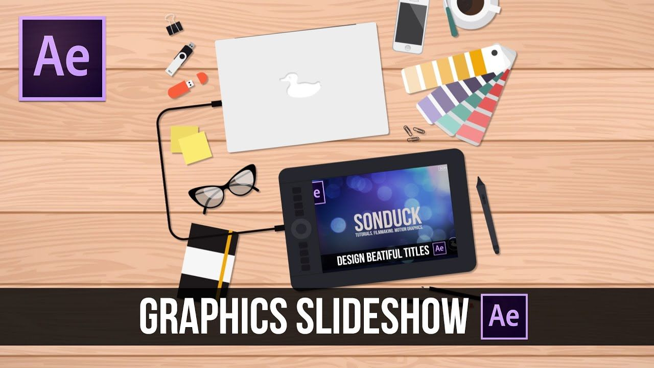 maxresdefault 7 4 - 2DMG动画幻灯片After Effects Tutorial 2D Motion Graphics Slideshow