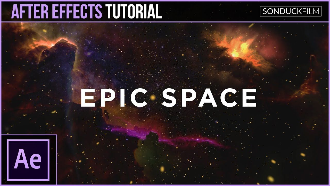 maxresdefault 7 7 - 与星云的史诗太空场景After Effects Tutorial Epic Space Scene with Nebulas
