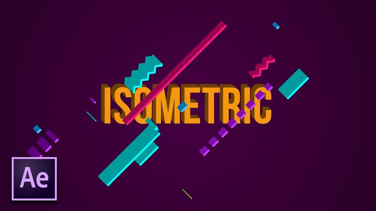 maxresdefault 8 11 - 创建等轴测三维运动图形Create Isometric 3D Motion Graphics  After Effects Tutorial