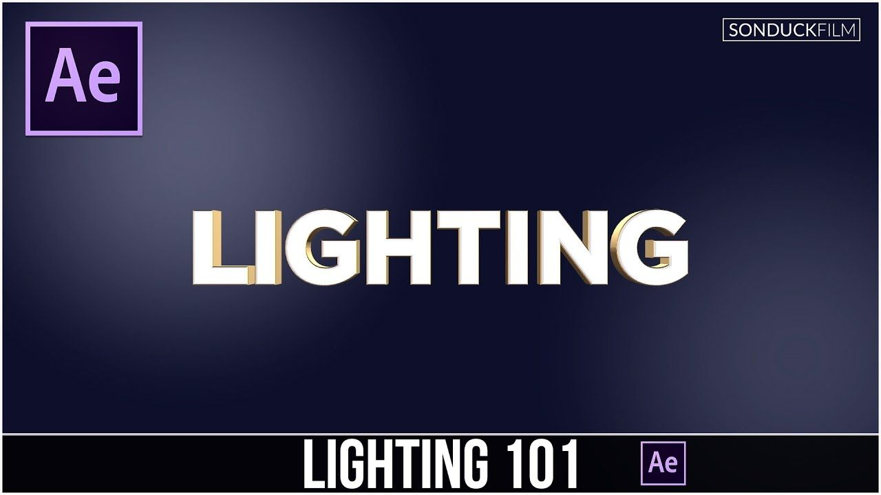 maxresdefault 8 17 - 照明基础101如何使用灯光After Effects Tutorial Lighting Basics 101  How to use Lights