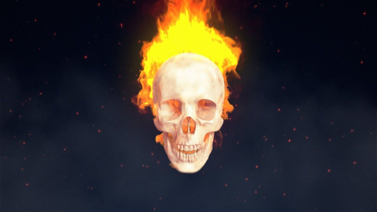 maxresdefault 9 20 - AEC4D教程Fire Skull简介Fire Skull Intro - Cinema 4D and After Effects Tutorial ( TurbulenceFD )