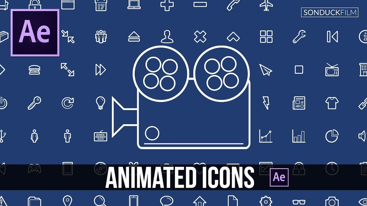 maxresdefault 9 8 - 为客户端创建动画图标After Effects Tutorial Create Animated Icons for Clients