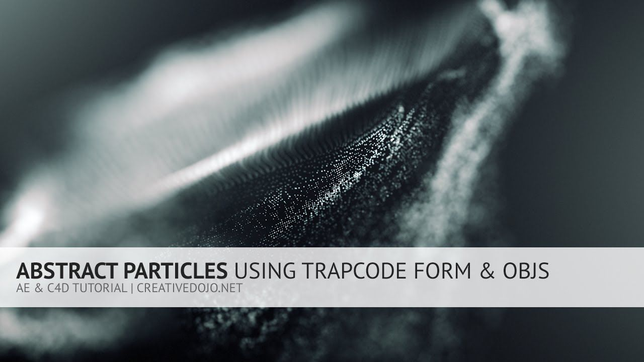 maxresdefault - Form导入OBJ制作抽象粒子AE  C4D Abstract Particles Using Trapcode Form and OBJs Tutorial