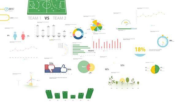 timg 1 - AE模板多样信息图表形图动画生态环境体育金融硬币公司业务介绍