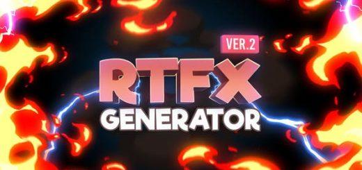 RTFX banner 2 520x245 - RTFx生成器[1000个Fx元素]RTFX Generator [1000 FX elements] - After Effects Tutorial
