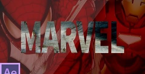 hqdefault 13 480x245 - 运动图像后效果Marvel标志简介Motion Graphics After Effects  Marvel Logo intro after effects tutorial - No Third Party plugins