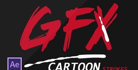 hqdefault 28 480x245 - 动画线动画-特效教程Cartoon line animation- after effects tutorial-No Plugins used