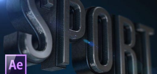 maxresdefault 1 5 520x245 - E3D创建一个三维文本Создаем 3D текст в After Effects при помощи плагина Element