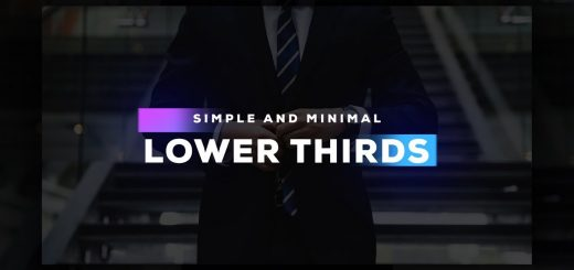 maxresdefault 10 520x245 - 文本标题Clean Lower Thirds in After Effects - Complete After Effects Tutorial