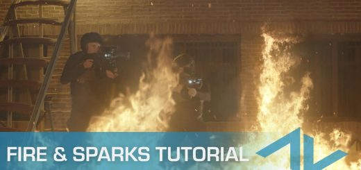 maxresdefault 11 13 520x245 - 如何合成火灾火花和烟雾元素How to Composite Fire Sparks and Smoke Elements in After Effects
