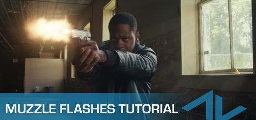 maxresdefault 12 13 520x245 - 如何合成枪口闪光Tutorial How to Composite Muzzle Flashes in After Effects