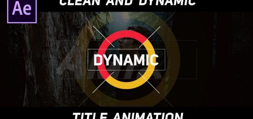 maxresdefault 12 2 520x245 - 动态标题动画Dynamic Title Animation in After Effects - Complete After Effects Tutorial