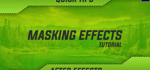 maxresdefault 12 5 520x245 - 掩蔽效果快速提示After Effects Tutorial  Masking Effects Quick Tip