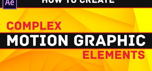 maxresdefault 13 11 520x245 - 超酷运动图案元素After Effects Tutorial  Super Cool Motion Graphic Elements