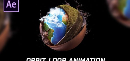 maxresdefault 13 2 520x245 - 动态观察循环动画Orbit Loop Animation in After Effects - After Effects Tutorial