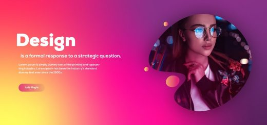 maxresdefault 14 10 520x245 - 彩色渐变网页用户界面设计Colorful Gradient Web UI Design in Adobe illustrator - Complete Tutorial