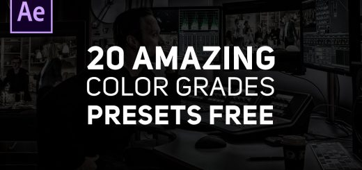 maxresdefault 15 11 520x245 - 20 DSLR电影外观颜色分级预设Free 20 DSLR Film Look Colour Grading Presets for Adobe After Effects