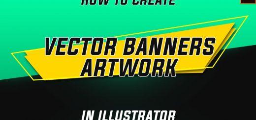 maxresdefault 16 8 520x245 - 创意矢量横幅Illustrator Tutorial  Creative Vector Banner