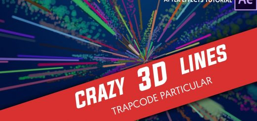 maxresdefault 18 6 520x245 - 粒子描边射线After Effects Tutorial Crazy 3D Stroke with Trapcode Particular