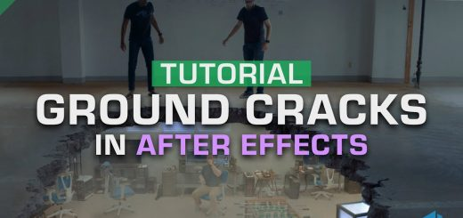 maxresdefault 2 8 520x245 - 如何组合地面裂缝Tutorial How to Composite Ground Cracks in After Effects