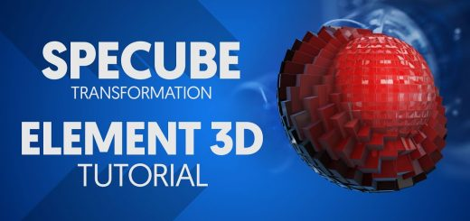 maxresdefault 23 520x245 - 元素3D Spcube效果Element 3D  Specube Effect in After Effects