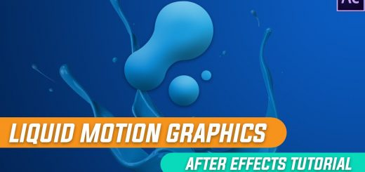 maxresdefault 27 4 520x245 - 液体运动图形动画After Effects Tutorials Liquid Motion Graphics Animation in After Effects