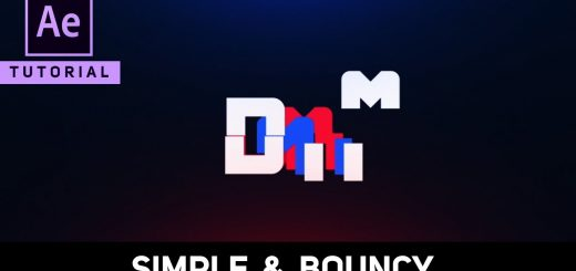 maxresdefault 28 1 520x245 - 简单的弹性标志动画Simple Bouncy Logo Animation in After Effects - Complete After Effects Tutorial
