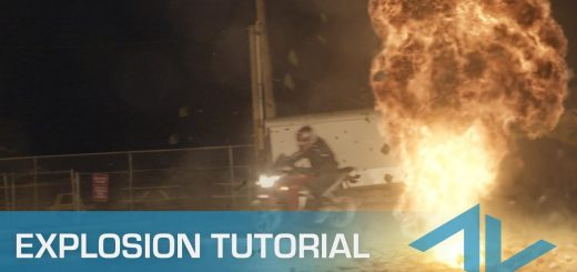 maxresdefault 3 8 520x245 - 如何组合爆炸和碎片元素Tutorial How to Composite Explosions and Debris Elements