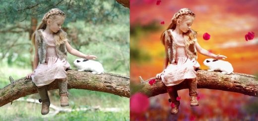 maxresdefault 3 9 520x245 - 梦幻色彩效果Tutorial II Fantasy Color Effect II Photoshop CC